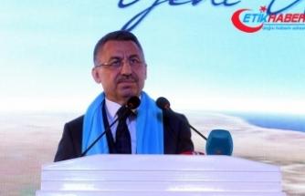 Cumhurbaşkanı Yardımcısı Oktay: Bugün durdukları yer nasıl ders aldıklarının göstergesidir