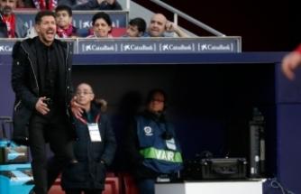 Diego Simeone'den özür açıklaması