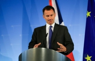 İngiltere Dışişleri Bakanı Hunt: AB ile İngiltere'nin gelecekteki ilişkisi tehdit altında