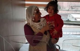 Tarım ilacı içen 2 yaşındaki Şeymanur yoğun bakımdan çıkarıldı