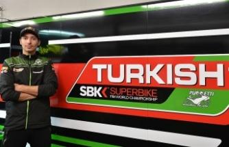 Toprak'ın hedefi 'Türk bayraklı' motosikletiyle podyuma çıkmak