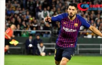 Barcelona'da Luis Suarez 2 hafta yok