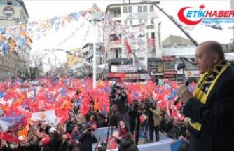 Cumhurbaşkanı Erdoğan'dan Ağrı'ya istihdam müjdesi
