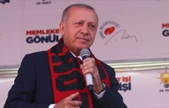 Cumhurbaşkanı Erdoğan: Ulusal Raylı Sistem Araştırma ve Test Merkezi kurulacak