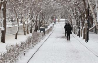 Doğu'da kar yağışı etkisini sürdürecek