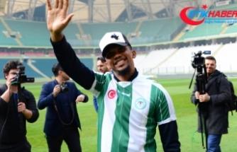 Eto'o'nun Konyaspor'a maliyeti 20 milyon lira