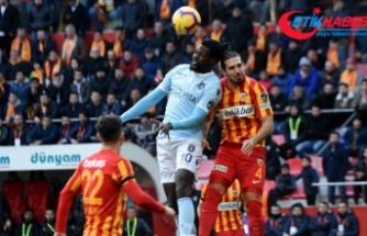 Medipol Başakşehir'e istatistiklerdeki üstünlük galibiyeti getirmedi