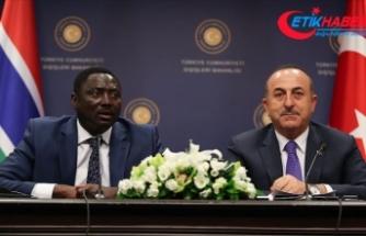 Dışişleri Bakanı Çavuşoğlu: Gambiya ile ikili ticaretimizi artırmak istiyoruz