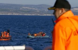 Ege'de 3,5 ayda 10 bin düzensiz göçmen yakalandı