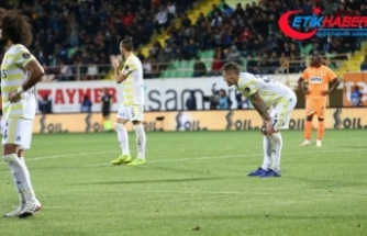 Fenerbahçe'den iki kötü istatistik daha