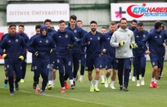 Fenerbahçe'de A. Alanyaspor mesaisi sürüyor