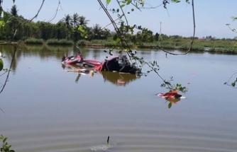 Filipinler'de helikopter gölete düştü: 3 ölü