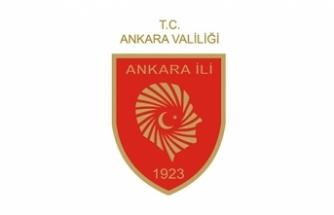 Ankara Valiliği: Protesto eyleminin önlenmesine yönelik gerekli güvenlik tedbirleri alındı
