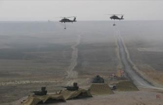 Özbekistan, Türkiye ve Pakistan ortak askeri tatbikatı