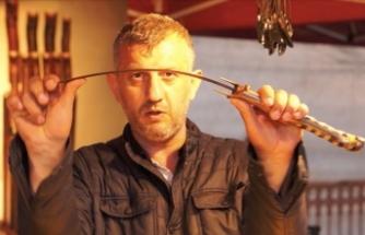 'Sürmene bıçağını keskin yapan alın teridir, emektir'