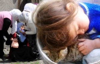 3 yaşındaki Nurcan, gözyaşlarıyla toprağa verildi