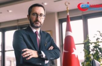 Cumhurbaşkanlığı İletişim Başkanı Altun: Artık Türkiye'de iktidarın kaynağı millet iradesidir