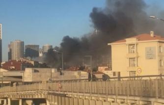 Fikirtepe'de tek katlı binanın çatı katında yangın: 2 ölü