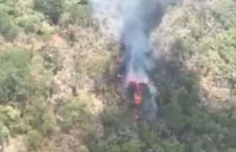 Meksika'da askeri helikopter düştü: 6 ölü