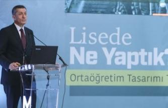 Milli Eğitim Bakanı Ziya Selçuk: Liselere yeni eğitim modelinin ilk sınavı 2024 yılında yapılacak