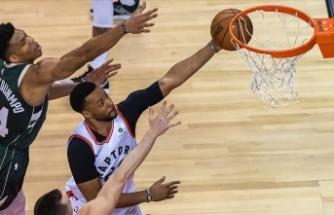 Raptors Doğu finalindeki ilk galibiyetini aldı