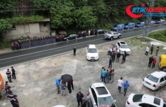 Rize'deki kaçak yapılarla ilgili yıkım kararı