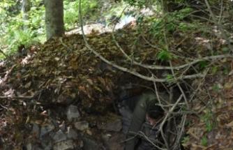 Trabzon'da terör örgütüne ait sığınak ve depolar ortaya çıkarıldı