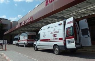 Üzerine televizyon düşen 3 yaşındaki Melek öldü