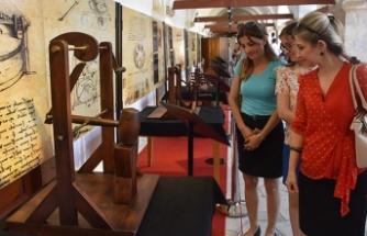'Da Vinci İcatları' sergisi, Kuşadası'nda açıldı