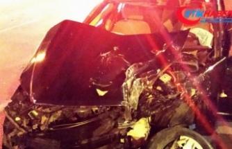Düğün töreni sonrasında feci kaza: 2 ölü, 2 yaralı