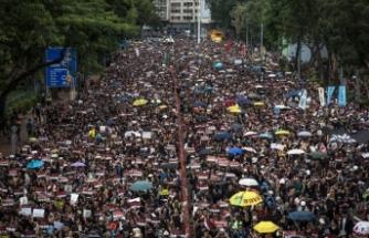 Hong Kong'da maske yasağı bir hafta daha yürürlükte kalacak