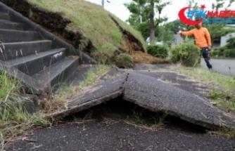 Japonya'daki depremde 26 kişi yaralandı
