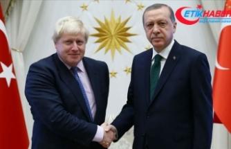 Cumhurbaşkanı Erdoğan'dan İngiltere Başbakanı Johnson'a tebrik