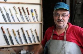 Kamyon makaslarını özel tasarım bıçaklara dönüştürüyor