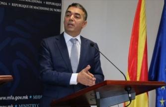 Kuzey Makedonya Dışişleri Bakanı Dimitrov: Dostumuzun sorunu bizim de sorunumuzdur