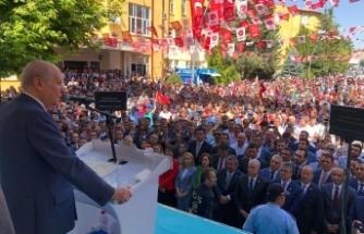 MHP Lideri Bahçeli: Cumhurbaşkanlığı Hükümet Sistemi macera değil, mecburiyettir.