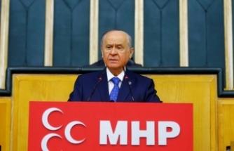 MHP Lideri Bahçeli: Türkiye Cumhuriyeti sokak serserilerine teslim edilmeyecektir
