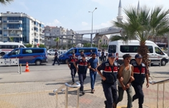 PYD/YPG bünyesinde Suriye'de eğitim alan 5 zanlıya tutuklama