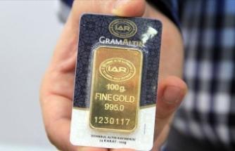 Gram altın 338,9 lira seviyelerinde