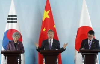 Güney Kore, Çin ve Japonya'dan kritik görüşme