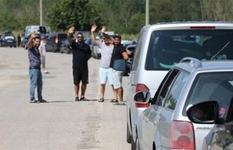 Gurbetçilerin dönüşü sınır kapılarında yoğunluk oluşturdu