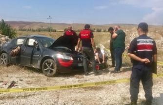Sungurlu'da feci kaza: 2 ölü, 3 yaralı