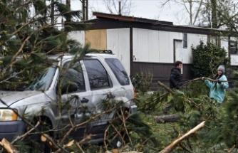 ABD'de fırtına ve hortum