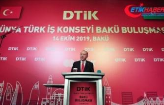 Cumhurbaşkanı Erdoğan: Bir kere yükselen bayrak bir daha inmez