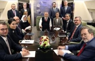 Cumhurbaşkanı Erdoğan: Hedefimiz belli, herhangi bir yaptırım konusunda endişemiz yok