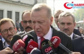 Erdoğan: Şu andan itibaren 120 saatlik süreç işliyor