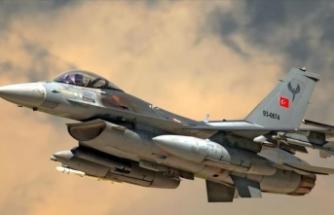 PKK'lı 8 terörist hava harekatıyla etkisiz hale getirildi