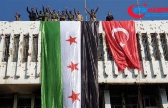PYD'den tamamen temizlenen Resulayn'da Türk bayrağı çekildi