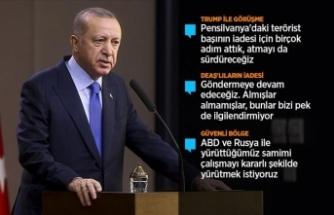 Erdoğan: FETÖ meselesi ele alacağımız konular arasında en üst sıralarda