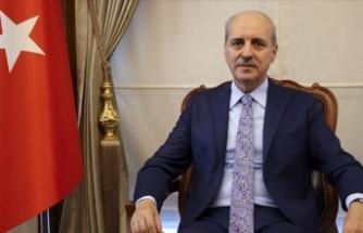 Kurtulmuş, KKTC Tarım ve Doğal Kaynaklar Bakanı Oğuz ile görüştü